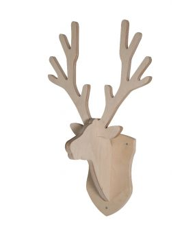 Coat rack deer - Nature