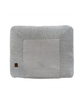 Knitted Grey - Changing mat cover 80x65