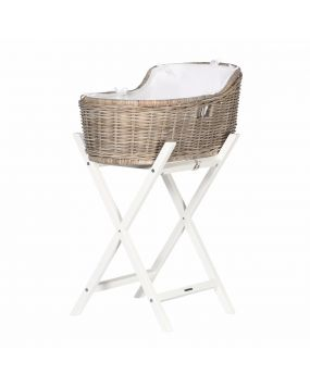 Knitted White - Bedding moses basket
