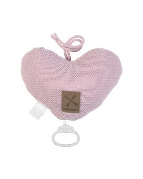 Knitted Pink - Musical heart