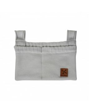 Knitted Grey - Storage bag