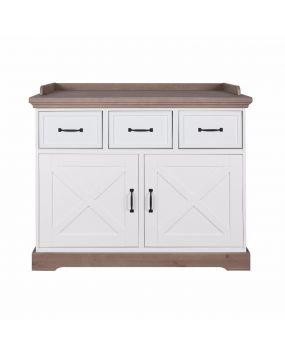 Savona White / Grey with cross - Chest