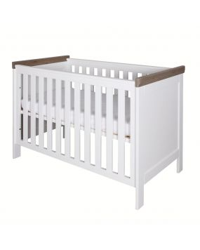 Savona White / Grey without cross - Cot 60x120