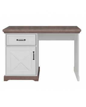 Savona White / Grey with cross - Desk