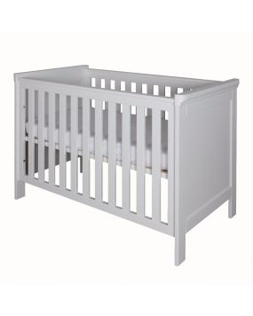 Savona White without cross - Cot bed 70x140