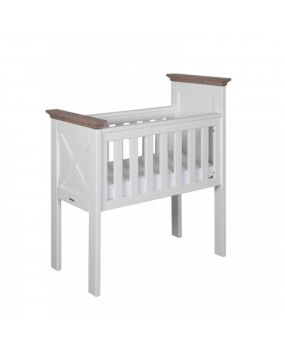Savona White / Grey with cross - Crib