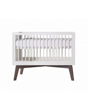 Sixties White Matt / Pine - Cot bed 70x140