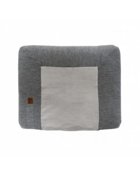 Knitted Anthracite - Changing mat cover 80x65